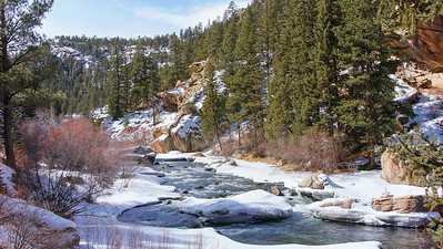 Eleven Mile Canyon 02-15-2014