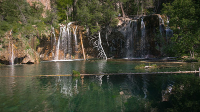 "Hanging Lake, Spouting Rock....the ""hike"" up 1020 feet over rocky terrain, but beautiful."