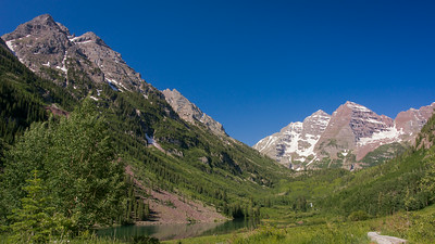 "Maroon Bells ~ Defies a photographer to take a ""bad"" photograph."